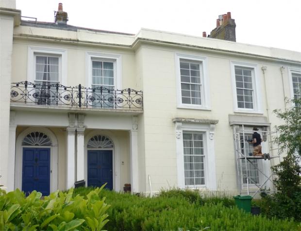 Bosence Exterior Mouldings Repair Falmouth Cornwall