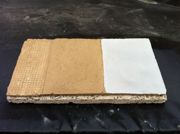 Clay Plaster Sample